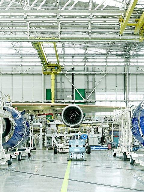 Фото: как собирают самолёты Airbus. Изображение № 5.
