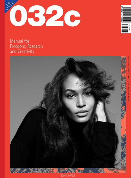 Новые обложки 032c, CR Fashion Book, Industrie, GQ, Muse и других журналов. Изображение № 1.