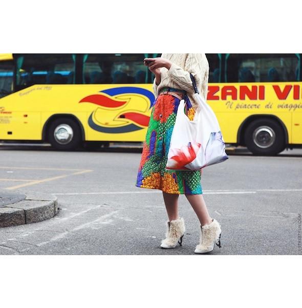 Изображение 77. На полях: 10 тенденций уличного стиля с прошедших недель моды.. Изображение № 77.
