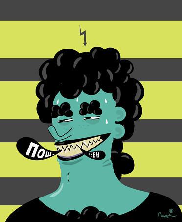 Гоу Гоу Зомби! - Иллюстратор из Санкт-Петербурга. Изображение № 8.