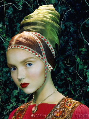 Lily Cole – top model doll. Изображение № 29.