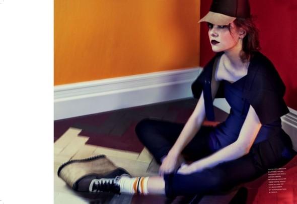 Съёмка: Имоджен Моррис-Кларк для Flair. Изображение № 3.