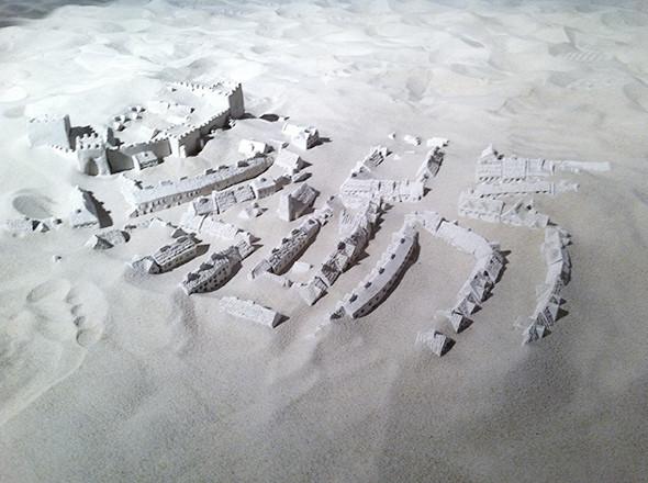 Инсталляция Кирилла Асса и Анны Ратафьевой «Битва при Гастингсе». Изображение № 1.