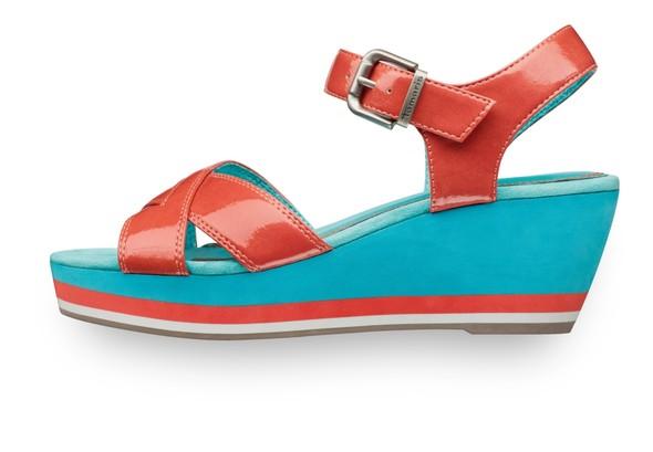 Современность и Ретро - элегантность в линии обуви Tamaris. Изображение № 11.