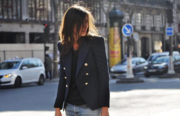 Луки с Недели моды в Париже. Изображение № 48.