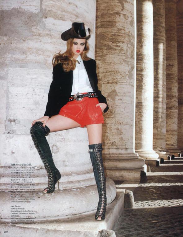 Спагетти Вестерн в Vogue Nippon. Изображение № 7.