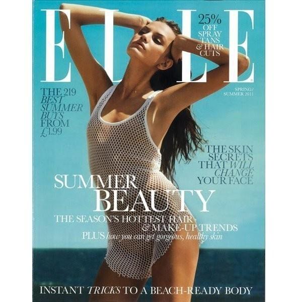 Изображение 2. Обложки: Elle, Harper's Bazaar и другие.. Изображение № 4.