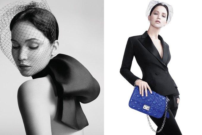 Дженнифер Лоуренс снялась в кампании Miss Dior. Изображение № 2.