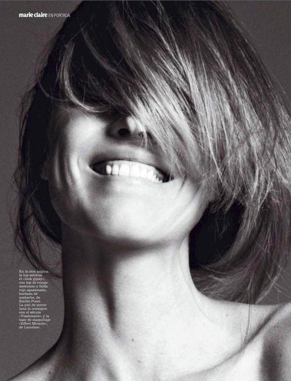 Ева Херцигова в Marie Claire Spain. Изображение № 3.