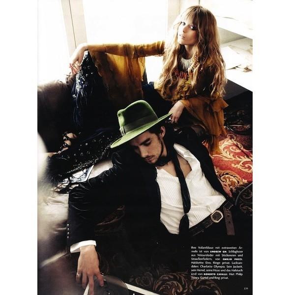 5 новых съемок: Dossier, Elle, V и Vogue. Изображение № 35.