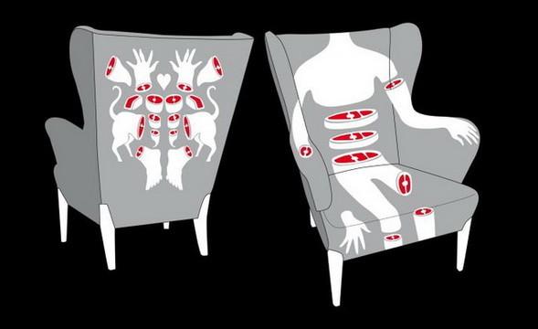 AK-LH элегантный анатомический дизайн. Изображение № 5.
