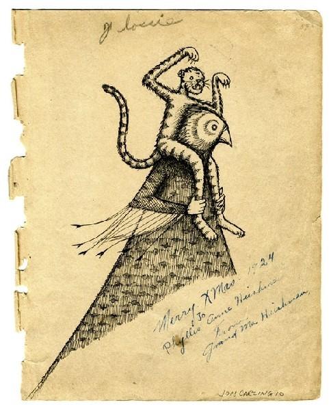 Jon Carling – мистерии в гелевой ручке. Изображение № 14.