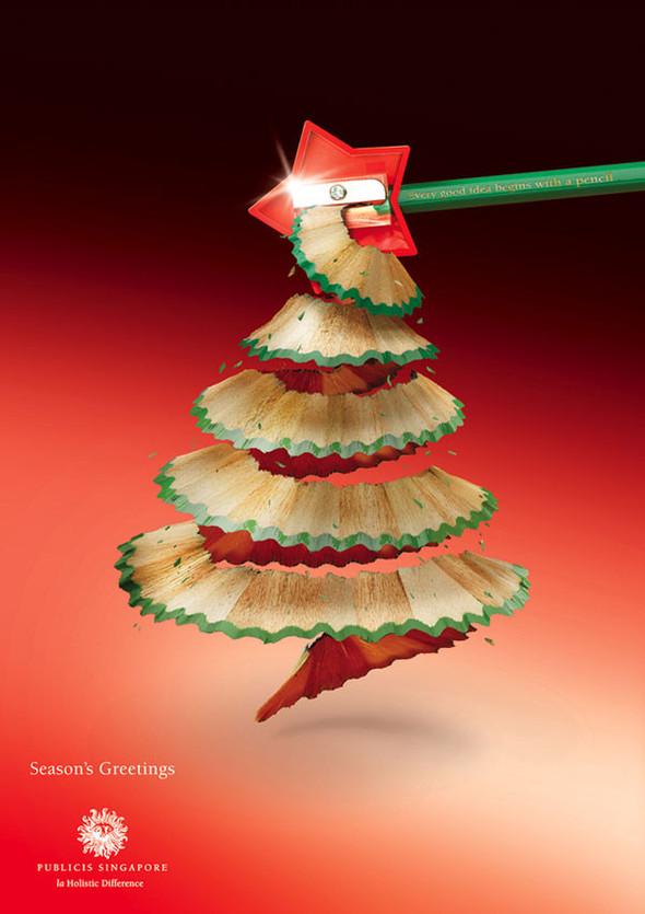 69 рождественских рекламных плакатов. Изображение № 2.