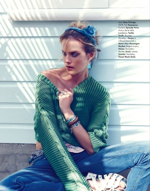 Съемки: Vogue, Elle, Tush и другие. Изображение № 49.