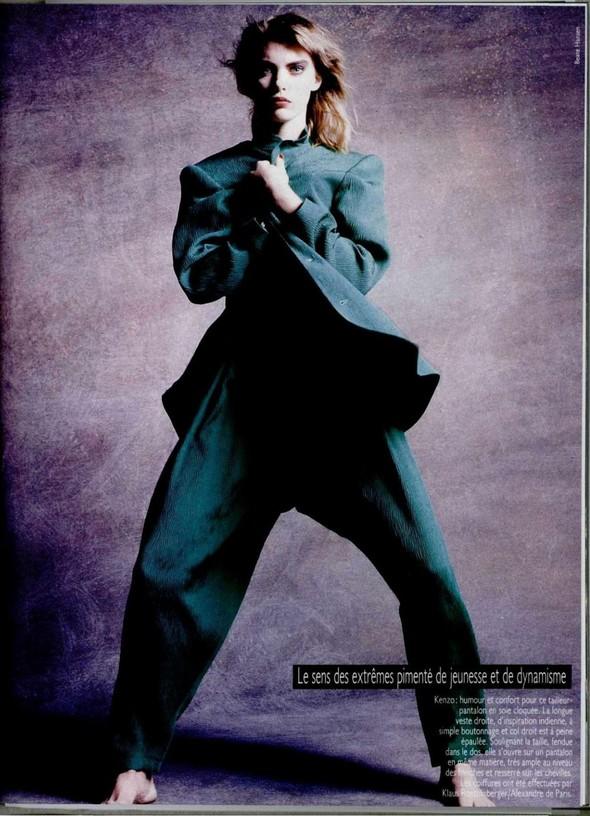 Архивная съёмка: Беате Ханзен для L'Officiel, 1986. Изображение № 8.