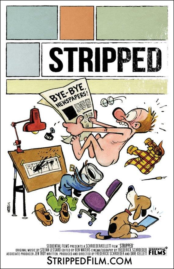 Автор комикса Calvin and Hobbes нарисовал постер о смерти бумажных носителей . Изображение № 1.