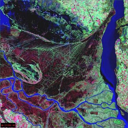 Фотографии Земли, снятые соспутников NASA. Изображение № 12.