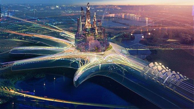 Спецэффекты: город будущего в рекламе Toshiba . Изображение № 5.