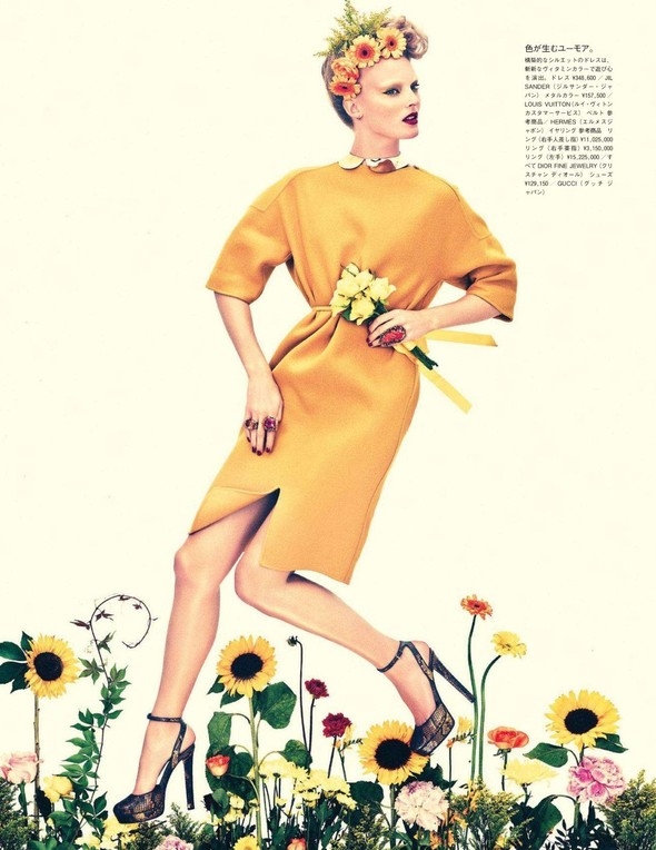Съёмка: Имре Стикема для Vogue. Изображение № 5.