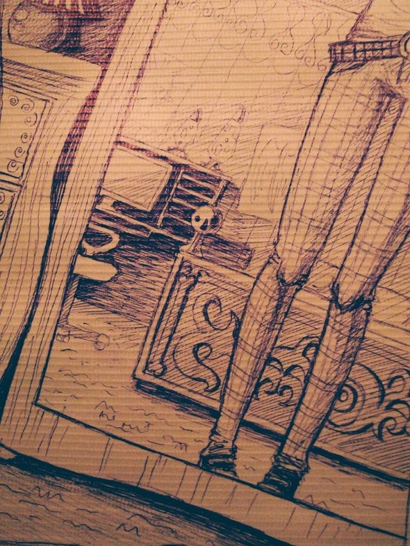 Импровизация рисования. Изображение № 4.