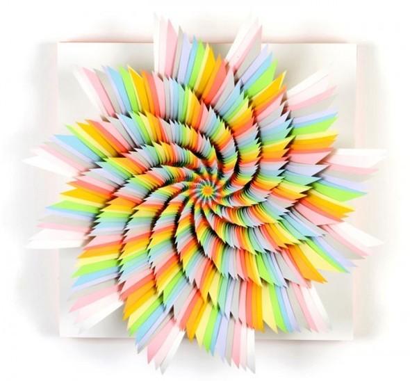 Абстракция из цветной бумаги. Изображение № 6.