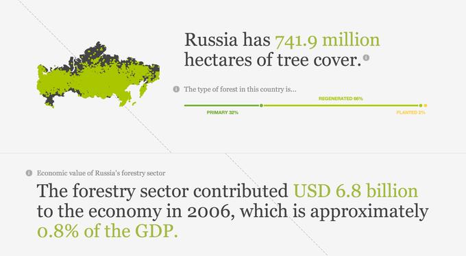 Появилась интерактивная карта мировых лесов. Изображение № 6.