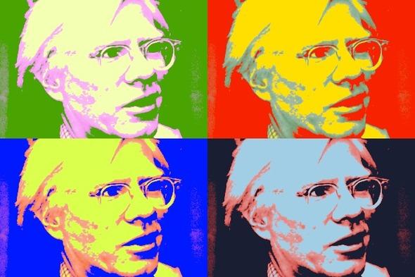 10 портретов Уорхола на веб-камеру . Изображение № 2.