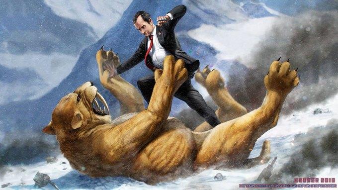 Американские президенты изображены героями игр. Изображение № 9.
