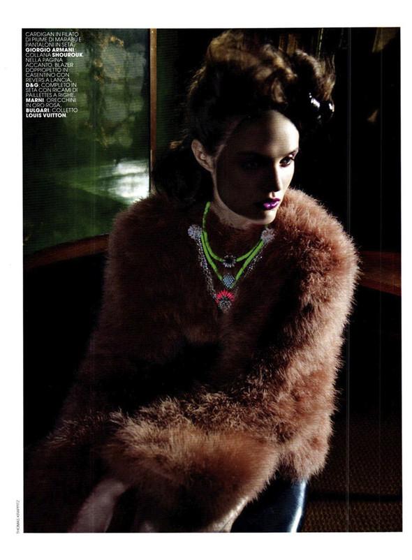 Съёмка: Кэти Фогарти для Marie Claire. Изображение № 9.