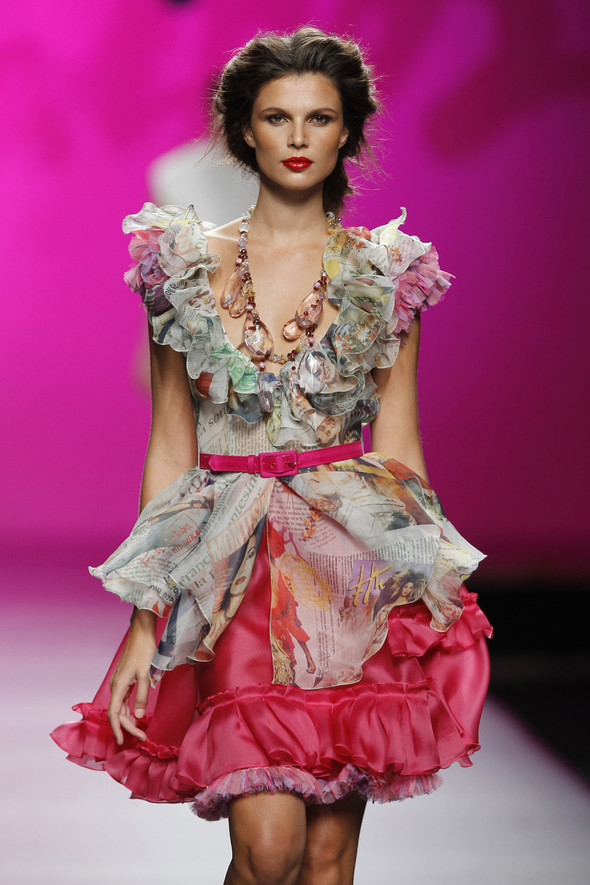 Madrid Fashion Week SS 2012: Francis Montesinos. Изображение № 18.