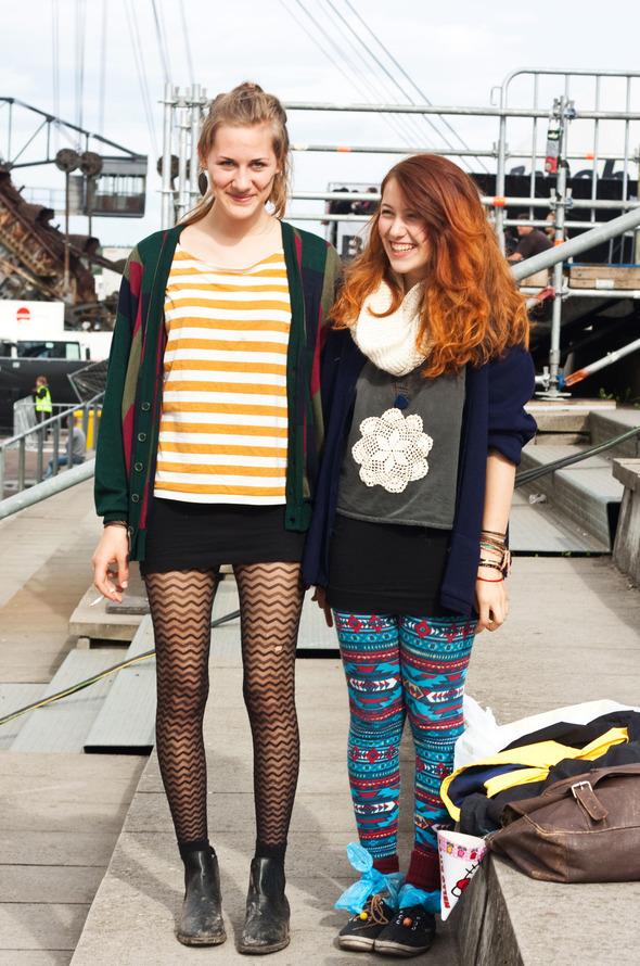 Золотые шорты, джинсовые рубашки и шляпы: Люди на фестивале MELT!. Изображение № 12.