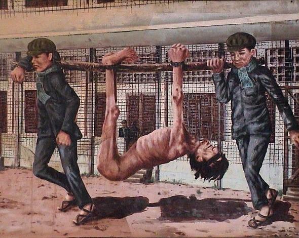 Кхмерский художник Vann Nath. Изображение № 16.