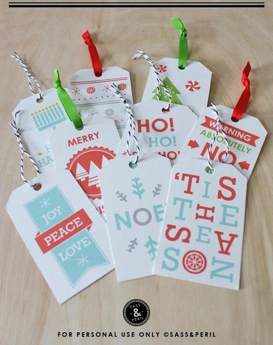 55 идей для упаковки новогодних подарков. Изображение № 46.