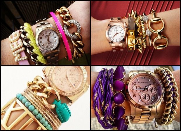 Новый тренд: Arm candy, Arm party или Bracelet stacking. Изображение № 1.