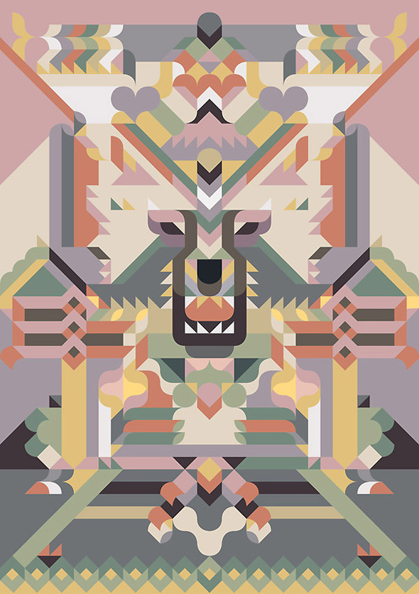 Siggi Eggertsson. Мозаика. Изображение № 2.