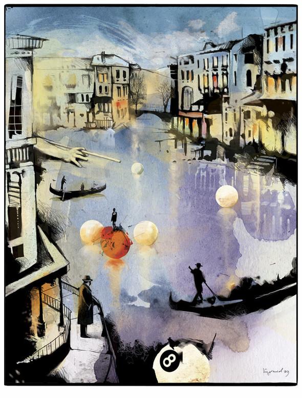 Иллюстрации для журнала и сайта «Сноб». Изображение № 8.