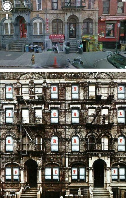 Места с обложек альбомов на Google Street View. Изображение № 5.