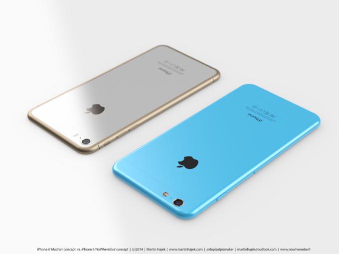 Дизайнер создал концепты iPhone 6s и 6c на основе «слива» из японского журнала. Изображение № 5.