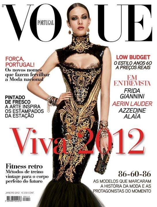 Обложки Vogue: Австралия и Португалия. Изображение № 2.