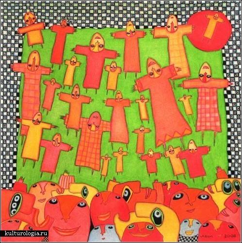 Разноцветный сюрреалистичный позитив. Изображение № 6.