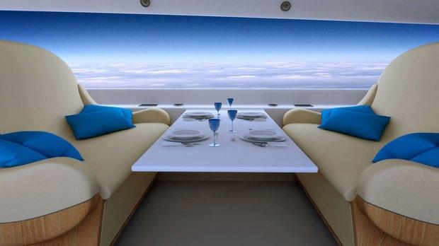 В сверхзвуковых самолётах окна заменят на дисплеи. Изображение № 5.