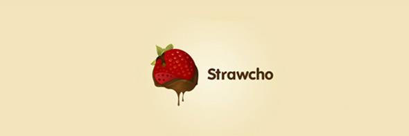 День шоколада. Вкусные шоколадные логотипы. Изображение № 4.
