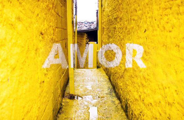 'Свет в переулках' граффити в фавелах. Изображение № 1.