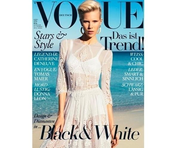 Изображение 34. Коллекция Dolce & Gabbana SS 2011 появилась на 42 обложках журналов.. Изображение № 2.
