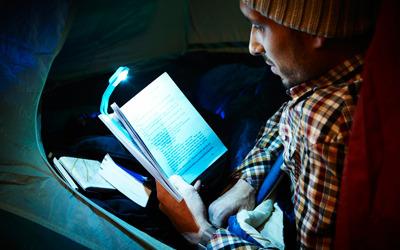 Цветные светильники для чтения Moleskine. Изображение № 5.