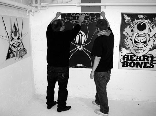 PBK9, художественная выставка в Лозанне, Швейцария. Изображение № 49.