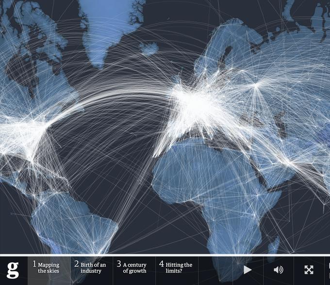 The Guardian представила инфографику в честь 100-летия авиации. Изображение № 2.