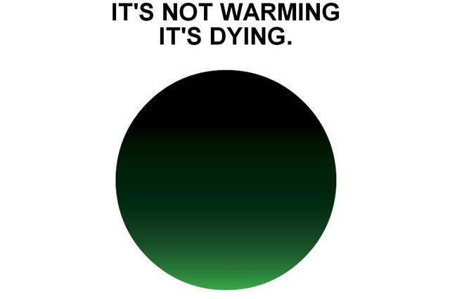 """Дизайнер логотипа """"I Love New York"""" создал знак для экологической кампании . Изображение № 3."""