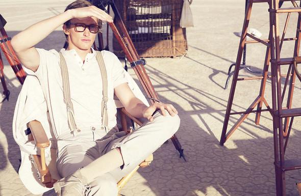 Съёмки: Elle, i-D и Vogue. Изображение № 24.