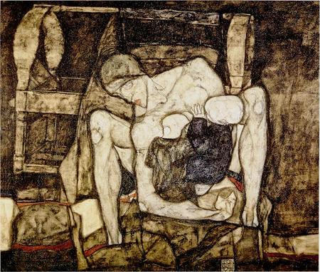Эгон Шиле. Эротика вискусстве живописи ирисунка. Изображение № 1.